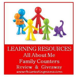 photo of Learning Resources Family Counters {Review and Giveaway} | This Rea
