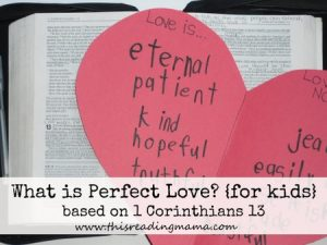 What is Perfect Love-for kids