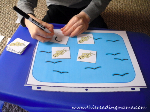 photo of Using manipulatives to count and trace | This Reading Mama