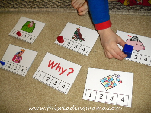 photo of Letter Q Syllable Count and Clip Activity | This Reading Mama