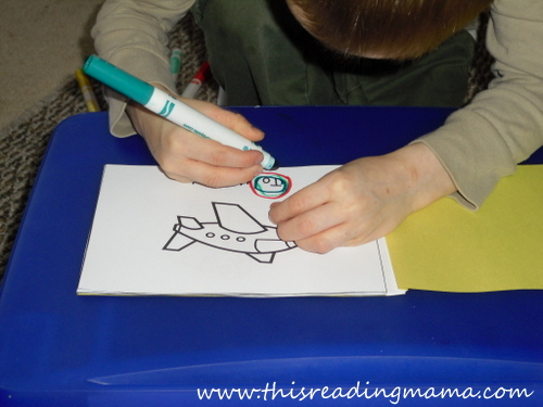 photo of find and circle sight words in text | This Reading Mama