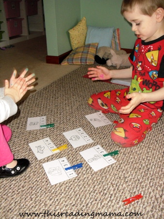 photo of Clap, Count, and Clip Syllables | This Reading Mama