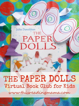 photo of The Paper Dolls-Virtual Book Club for Kids   This Reading Mama