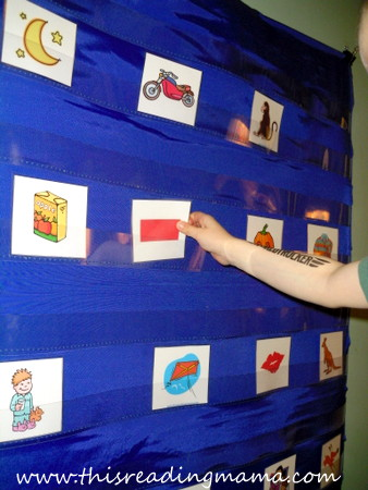 photo of Initial sound sorting game for letters | This Reading Mama