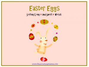 photo of Easter Eggs- A FREE Easter-Themed Sound and Picture Sort | This Reading Mama