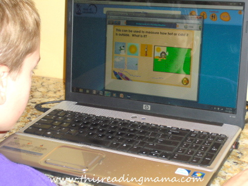 photo of 1st grade Science Lesson on Time 4 Learning | This Reading Mama