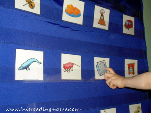 photo of Which Sound Doesn't Belong, initial sound game | This Reading Mama