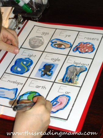 photo of Tracing the Letter E