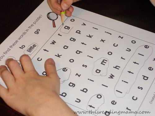 photo of Review Sight Word Search | This Reading Mama