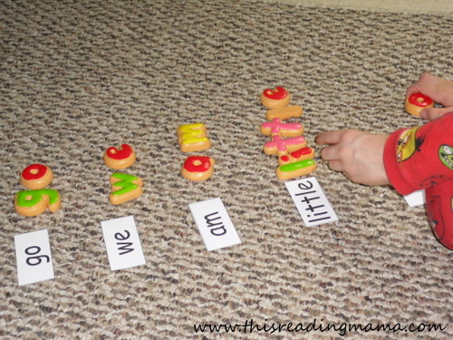 photo of Build a Sight Word | This Reading Mama