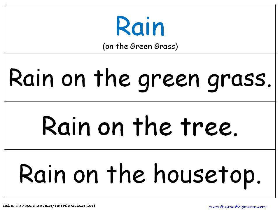 Printable Worksheets rainy day worksheets : Rainy Day PreK Pack