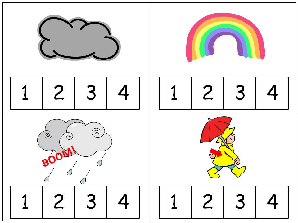 Printable Worksheets rainy day worksheets : FREE Rainy Day PreK Pack