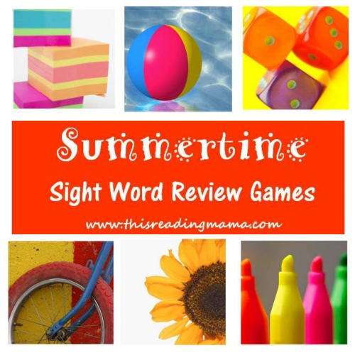 photo of Summertime Sight Word Review Games | This Reading Mama