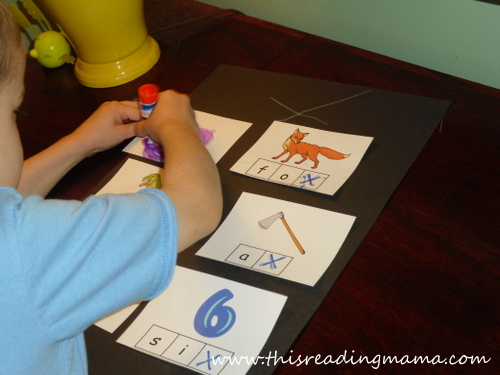 photo of Stamp the X-phonemic awareness for letter X (2) | This Reading Mama
