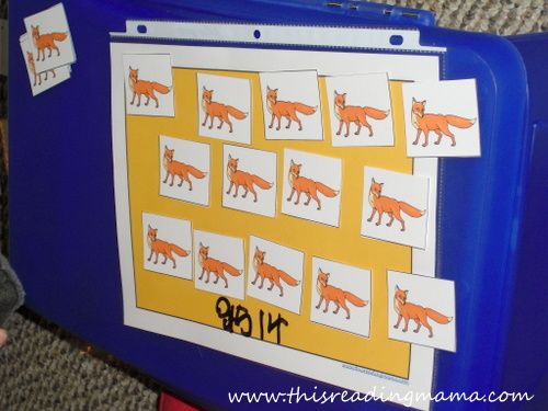 photo of How Many Foxes in the Box-a counting game | This Reading Mama