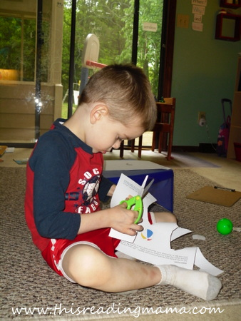 photo of Cut and Paste a Rhyme Activity | This Reading Mama