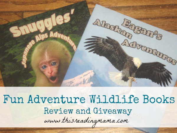 Fun Adventures Wildlife Books {Review and Giveaway} | This Reading Mama