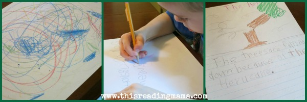 Drawing and Writing the Story
