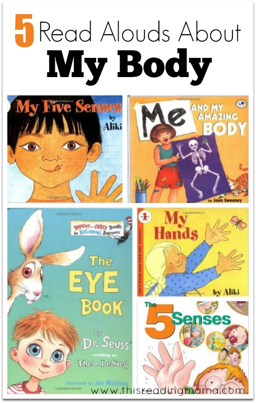 5 Read Alouds About My Body - This Reading Mama