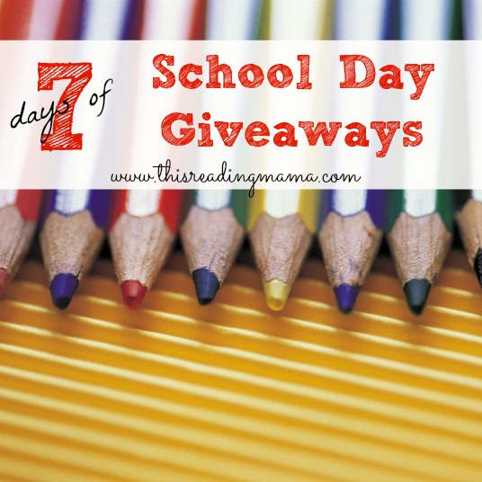 7 Days of School Day Giveaways | This Reading Mama