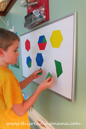 How Many Ways Can you Make a Hexagon | This Reading Mama