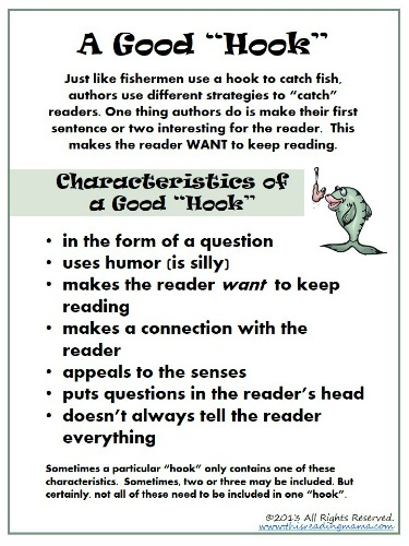 how to write a good hook