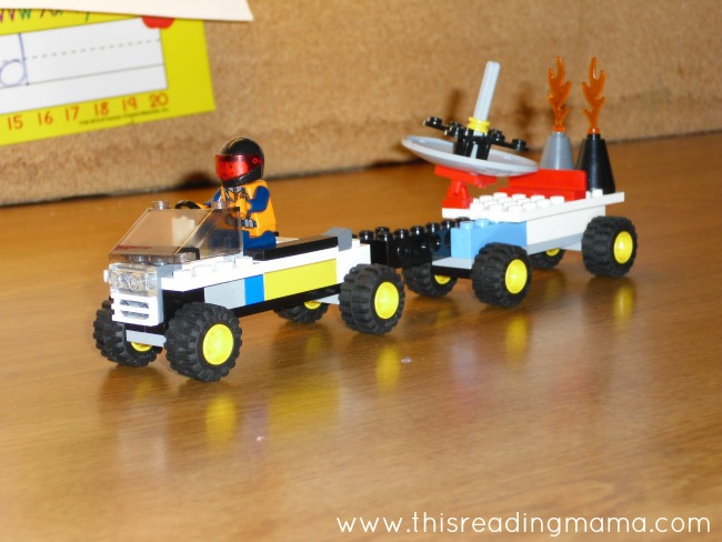 Build a Lego Creation | This Reading Mama