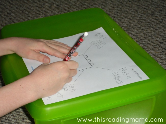 Using a graphic organizer before writing | This Reading Mama