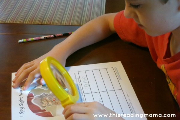 I Spy Sight Words | This Reading Mama