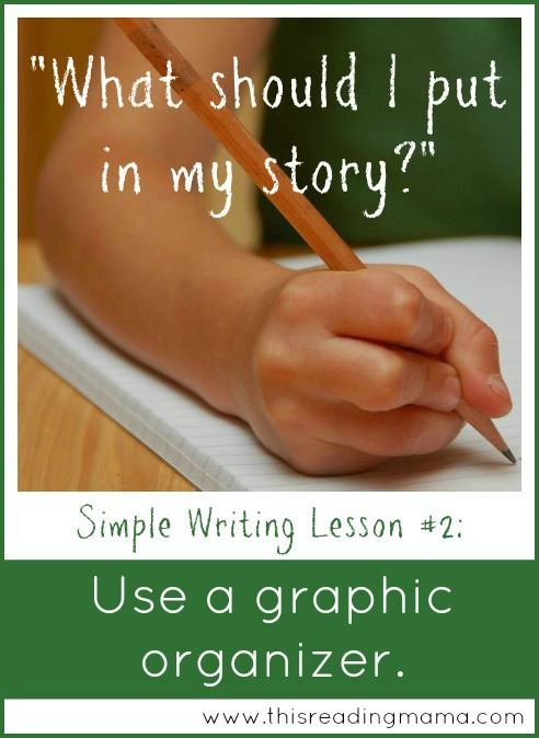 Use a Graphic Organizer: A Simple Pre-Writing Strategy | This Reading Mama