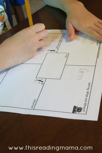 Use a Graphic Organizer to Brainstorm a Story | This Reading Mama