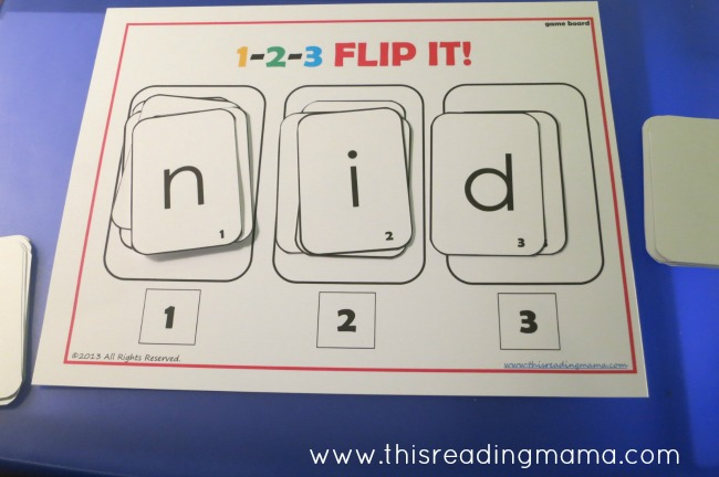 Making a Silly Short Vowel Word | This Reading Mama