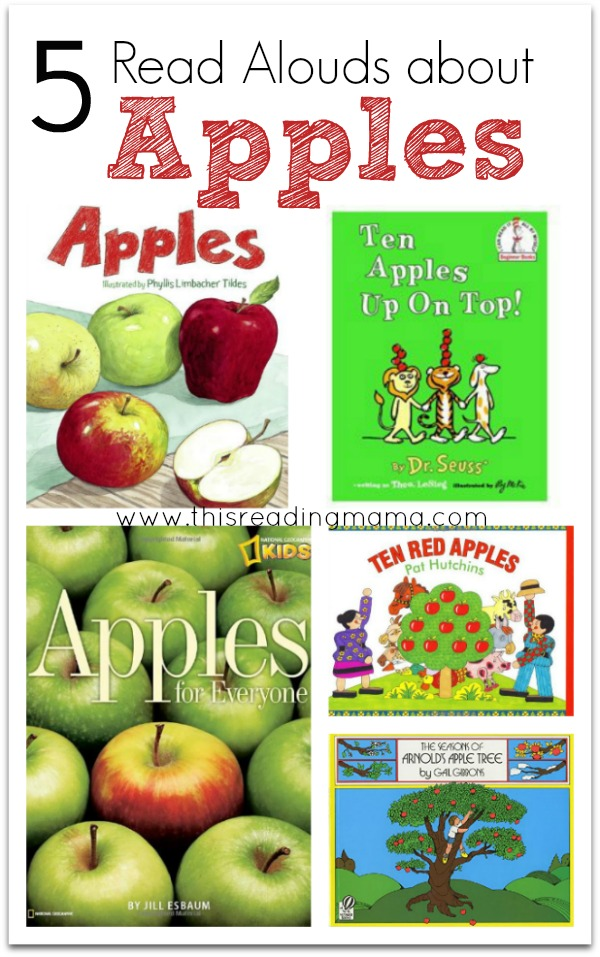5 Read Alouds About Apples