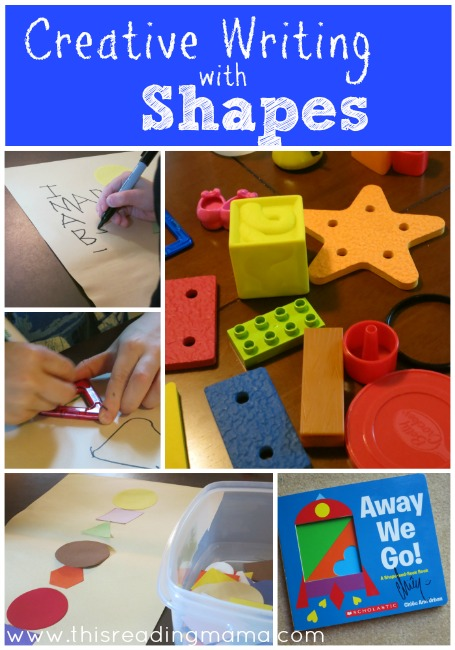 Creative Writing with Shapes {Away We Go! Review and Giveaway} | This Reading Mama