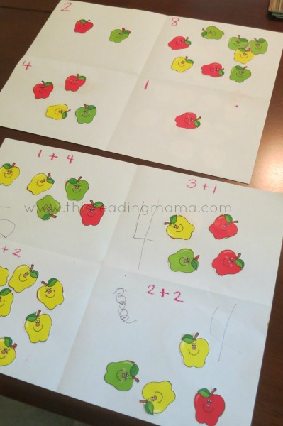 A Simple Math Activity for Counting and Adding | This Reading Mama