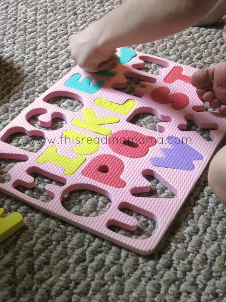 Reach in the bag and feel a letter guessing game   This Reading Mama