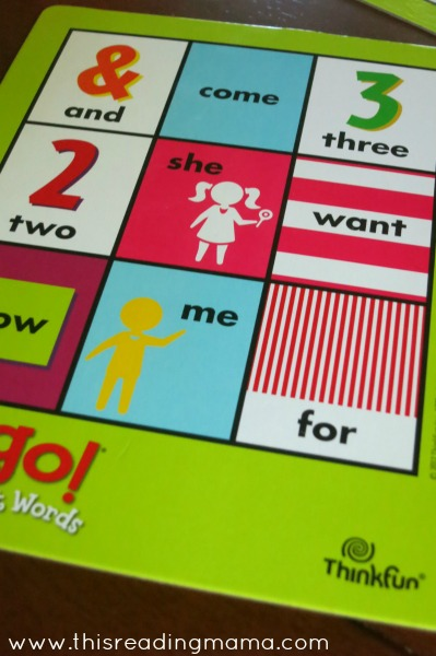 Zingo! Sight Words from Thinkfun {Review and Giveaway} | This Reading Mama