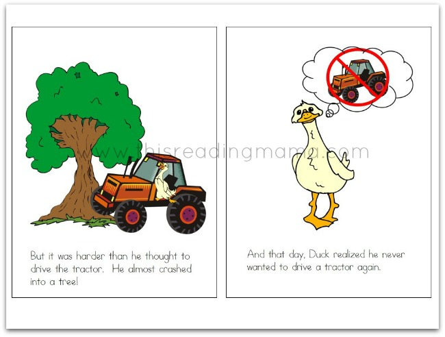 Duck on a Tractor Excerpt Story | This Reading Mama