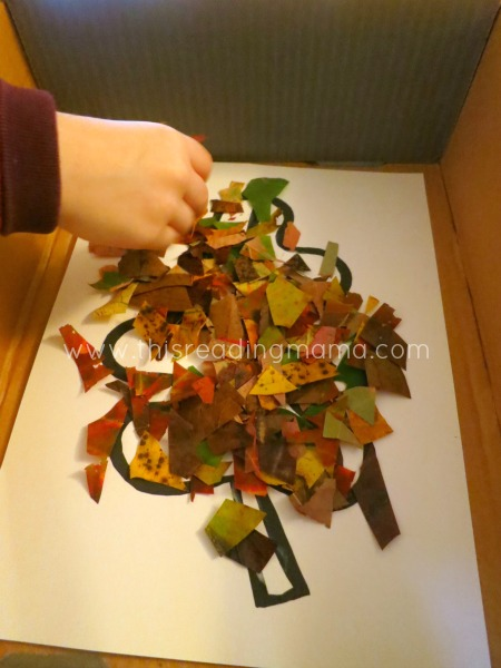 Natural Fall Leaf Collages Free Printable Included