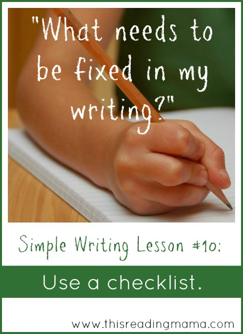 Simple Writing Lesson 9-TRM