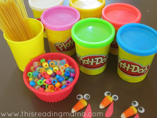 materials for fine motor turkeys | This Reading Mama