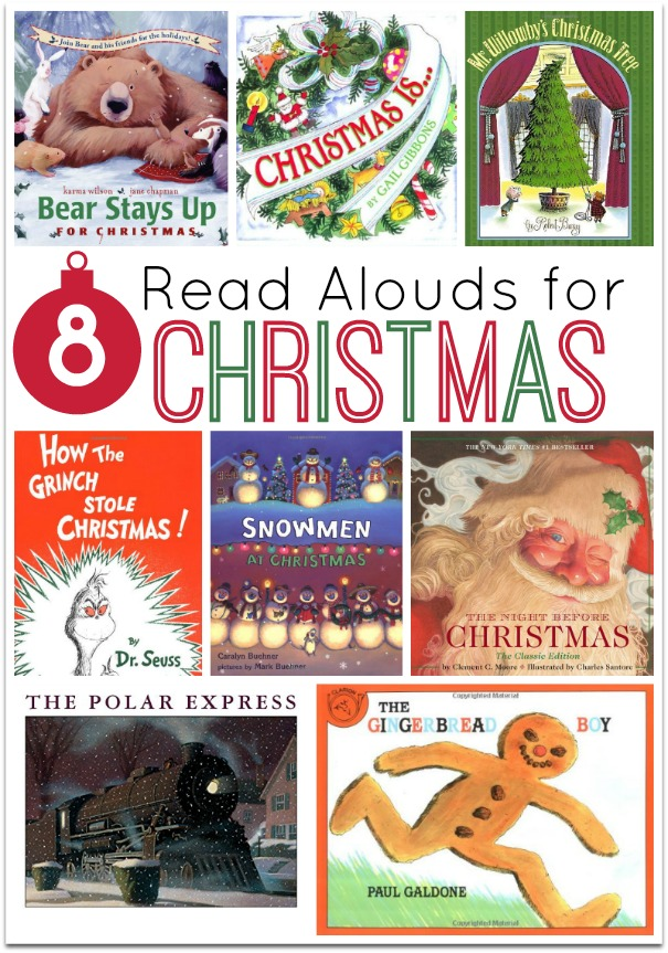 8 Read Alouds for Christmas - This Reading Mama