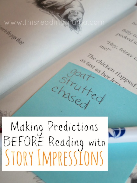 Making Predictions Before Reading with Story Impressions