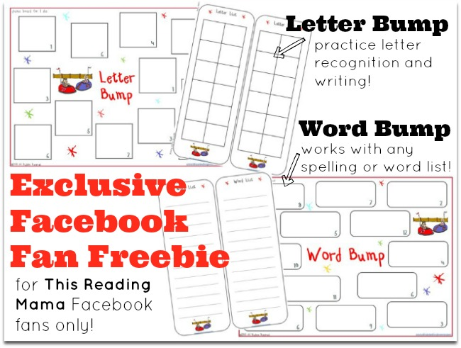 "NEW Facebook freebie for ""likers"" of This Reading Mama"