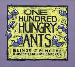 One Hundred Hungry Ants by Elinor J. Pinczes ~ Read Alouds for the 100th Day of School | This Reading Mama