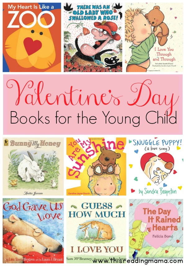 valentines day books for the young child