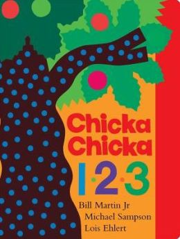 Chicka, Chicka 123 by Bill Martin Jr. ~ Read Alouds for the 100th Day of School | This Reading Mama
