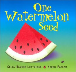 One Watermelon Seed by Cecil Barker Lottridge ~ Read Alouds for the 100th Day of School | This Reading Mama