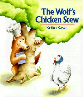 The Wolf's Chicken Stew by Keiko Kasza ~ Read Alouds for the 100th Day of School | This Reading Mama