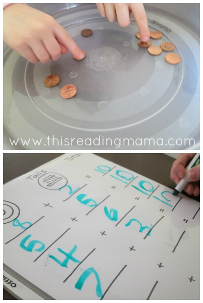 adding to 10 with pennies | This Reading Mama